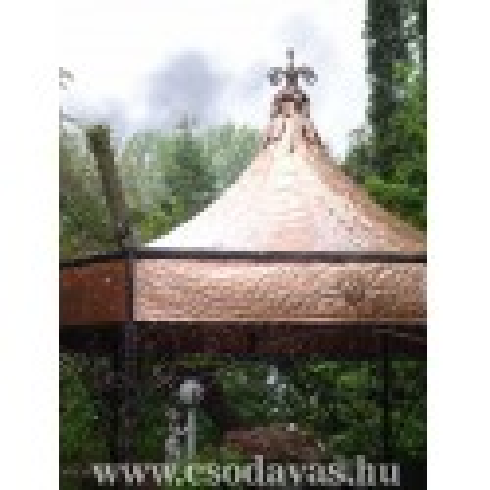 Vörösréz tetők kerti pergolák gyártása !
