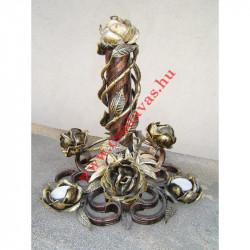 Kovácsoltvas biztonsági ajtó ( kétszárnyu )